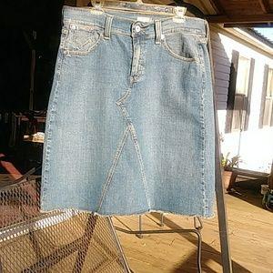 Levis Jeans Skirt
